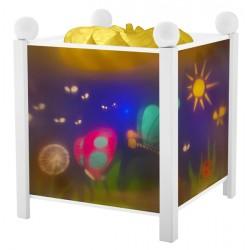 Trousselier lanterne magique Papillons. Décoration chambre bébé