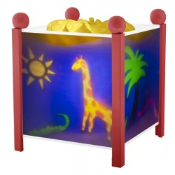 Trousselier lanterne magique Jungle. Décoration chambre bébé