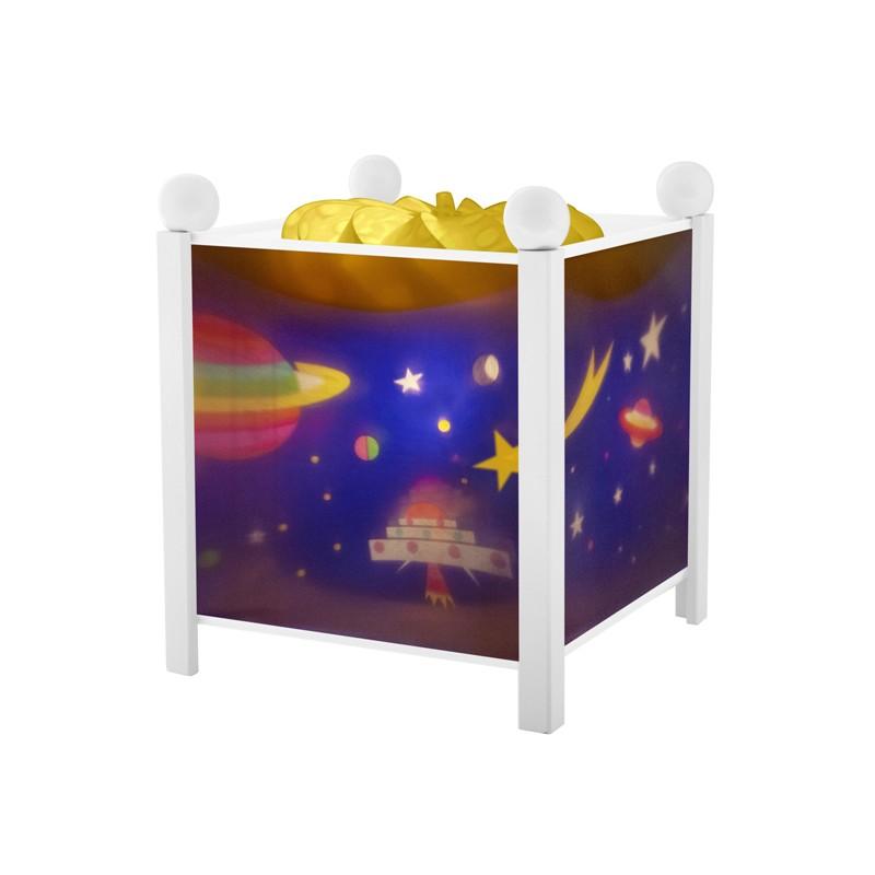 Trousselier lanterne magique Espace. Décoration chambre bébé