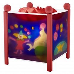Trousselier lanterne magique Cirque. Décoration chambre bébé