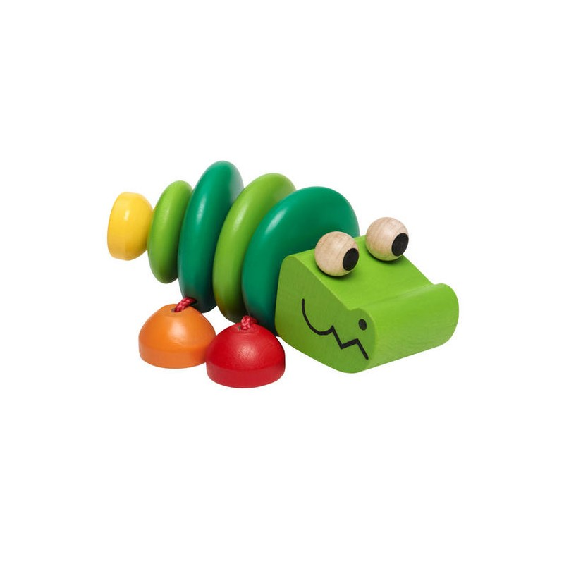 Selecta Spielzeug hochet en bois croco