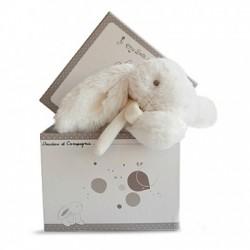 Doudou et Compagnie boite à musique lapin blanc