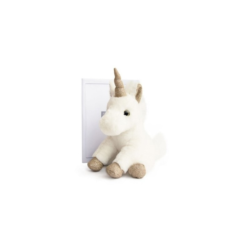 histoire d 39 ours peluche licorne or. Black Bedroom Furniture Sets. Home Design Ideas