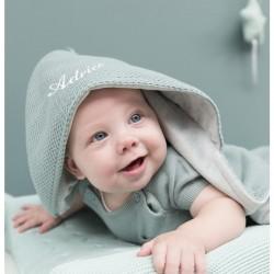 Baby's Only nid d'ange bleu brodé
