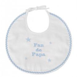 Bavoir naissance Fan de Papa