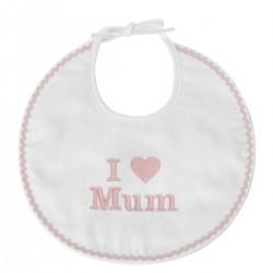Bavoir I Love Mum