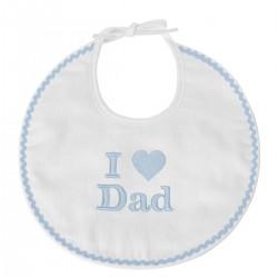 Bavoir I Love Dad