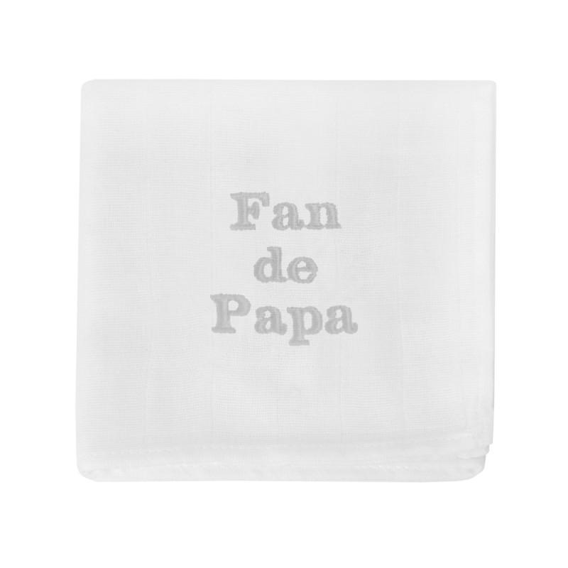 Lange brodé Fan de Papa