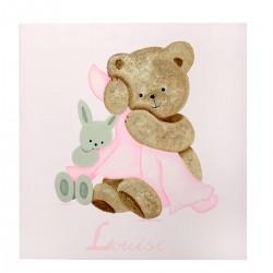 Tableau personnalisé peint à la main. Cadeau de décoration pour les petites filles ou les petits garçons.