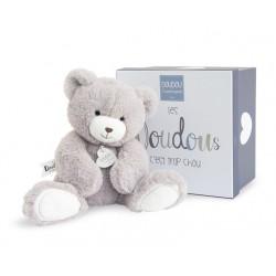 Peluche ours taupe de Doudou et Compagnie.