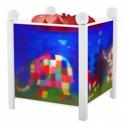 Trousselier lanterne magique Elmer. Décoration chambre bébé