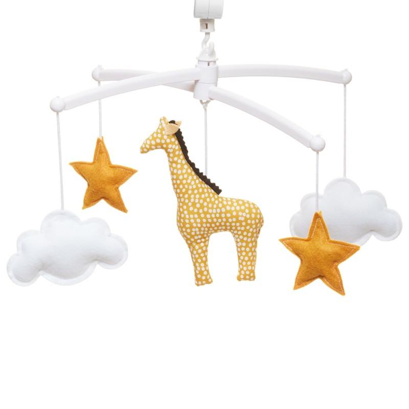 Pouce et Lina Mobile Musical Girafe