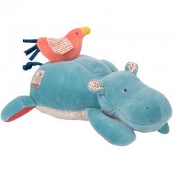 Boite à musique hippopotame Les Papoum Moulin Roty