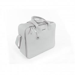 Pasito a Pasito valise de maternité grise Biscuit