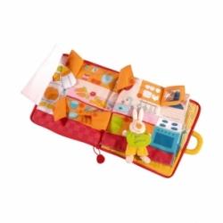 Livre jeu d'éveil Bonsoir Petit Lapin Lilliputiens