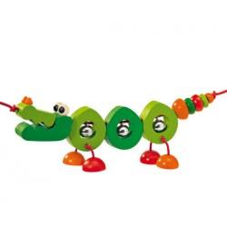 Selecta Spielzeug chaine d'activité Crocolini