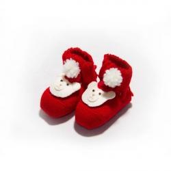 Chaussons pour les bébés pour les fêtes de Noël